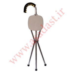 عصای فلزی صندلی شو سه پایه براندون