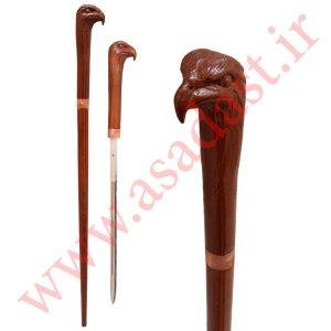 عصای شمشیری میلاندو طرح عقاب