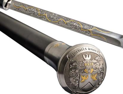 عصای شمشیر دار