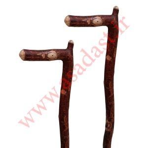 عصای چوب طبیعی آدریانوس چوب آلبالو