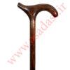 عصای دست ساز ترزا طرح کمپانی CAVAGNINI ایتالیا رنگ قهوه ای تیره