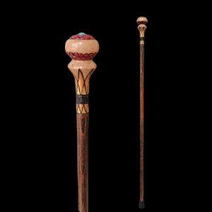 عصا فیروزه کاری والکس کِین walex cane